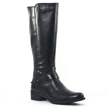 Bottes Tamaris 25571 Black, vue principale de la chaussure femme