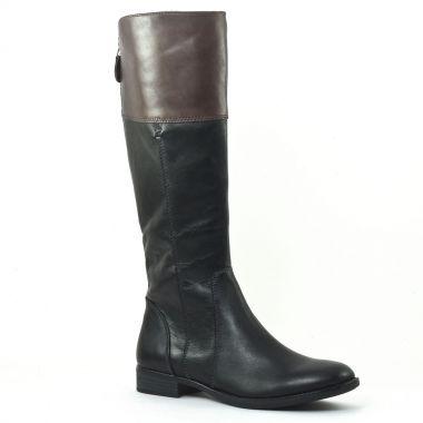 Bottes Tamaris 25530 Black Graphite, vue principale de la chaussure femme