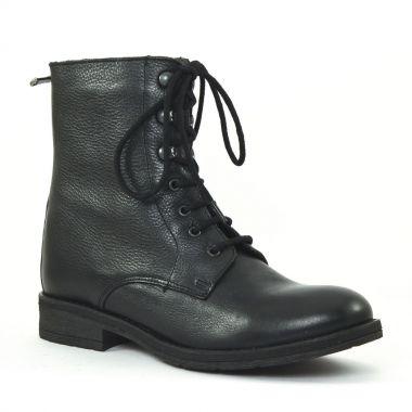 Bottines Et Boots Scarlatine co700079e Noir Bleu, vue principale de la chaussure femme