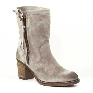 Bottes Tamaris 25024 Stone, vue principale de la chaussure femme