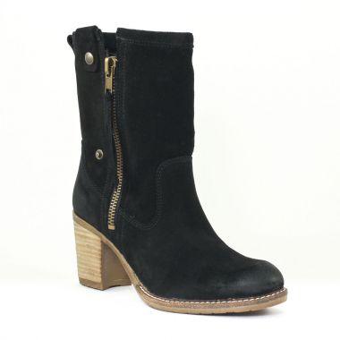 Bottes Tamaris 25024 Black, vue principale de la chaussure femme