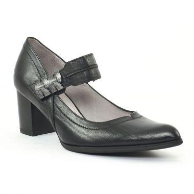 Escarpins Fugitive Cabra Noir, vue principale de la chaussure femme