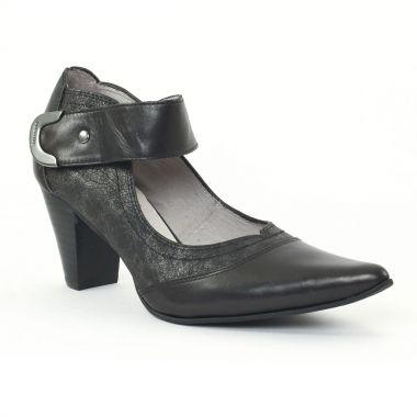 Escarpins Fugitive Amoro Noir, vue principale de la chaussure femme