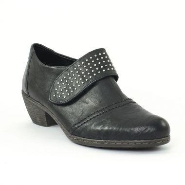 Bottines Et Boots Rieker 51450 Schwarz, vue principale de la chaussure femme