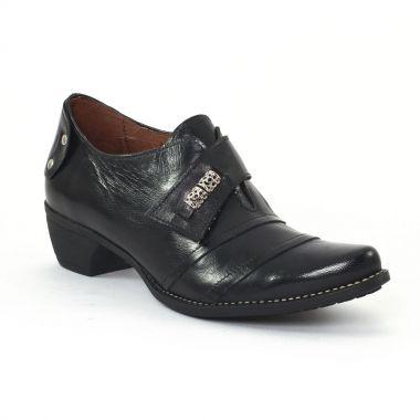 Mocassins Scarlatine 2104 Noir, vue principale de la chaussure femme