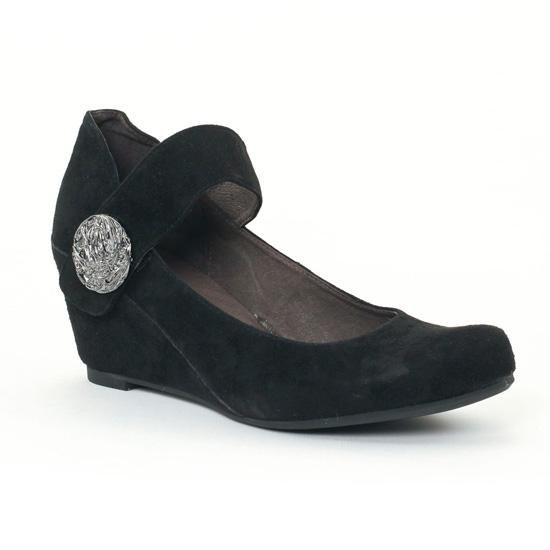 Babies Mamzelle Sari Velours Noir, vue principale de la chaussure femme