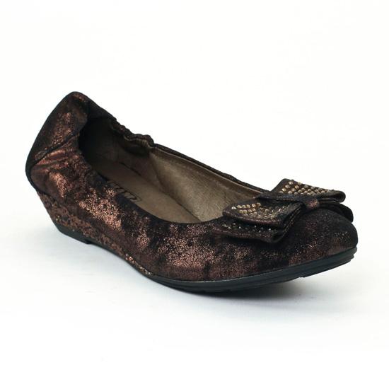 Ballerines Mamzelle Bonny Bronze, vue principale de la chaussure femme