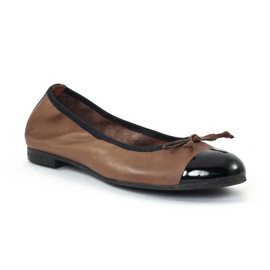 Ballerines Scarlatine 7774 Nocciola, vue principale de la chaussure femme