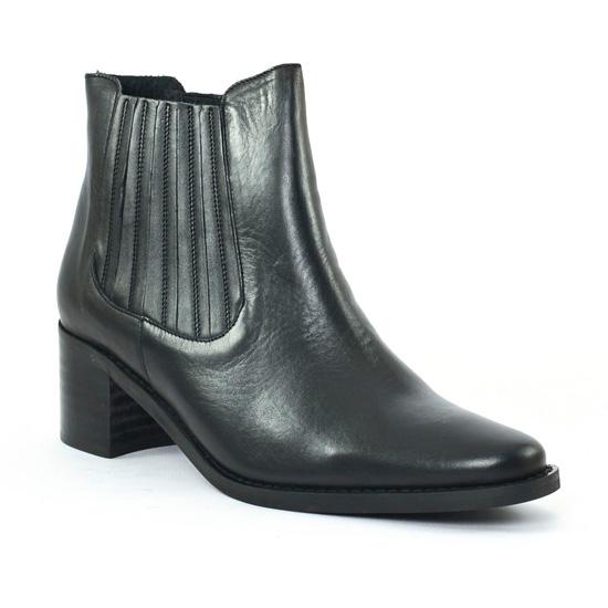 Bottines Et Boots Scarlatine co77375 Noir, vue principale de la chaussure femme