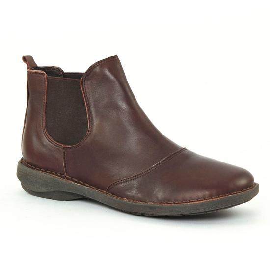 Bottines Et Boots Scarlatine co77315 Expresso, vue principale de la chaussure femme
