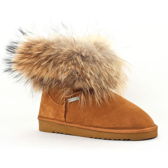 hot product fashion styles classic style Les Tropeziennes Fantine Camel | boot fourrées marron clair ...