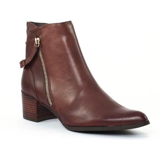 Bottines Et Boots Fugitive Halen Marron, vue principale de la chaussure femme