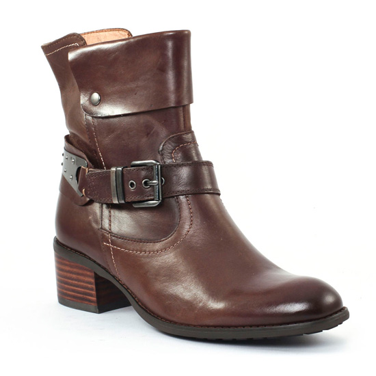 Bottines Et Boots Mamzelle Rudo Moka, vue principale de la chaussure femme
