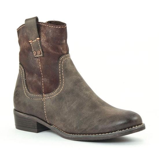 Bottines Et Boots Marco Tozzi 25316 Moka, vue principale de la chaussure femme