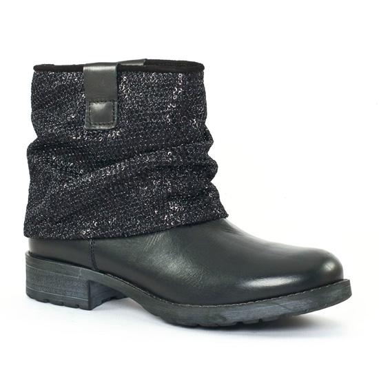 Bottines Et Boots Tamaris 25482 Black, vue principale de la chaussure femme