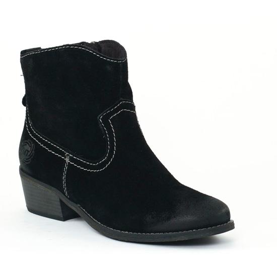 Bottines Et Boots Marco Tozzi 25374 Black, vue principale de la chaussure femme