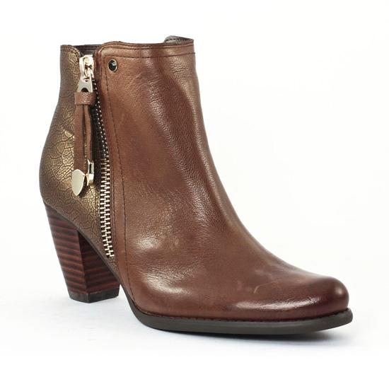 Bottines Et Boots Fugitive Prime Taupe, vue principale de la chaussure femme