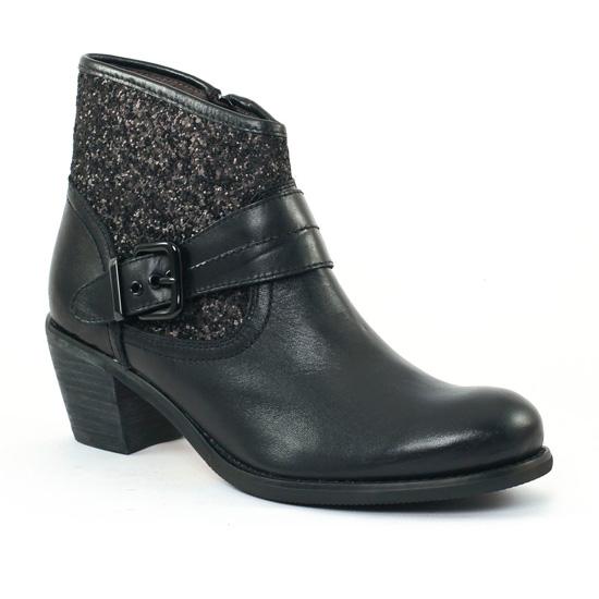 Bottines Et Boots Mamzelle Ovane Noir, vue principale de la chaussure femme