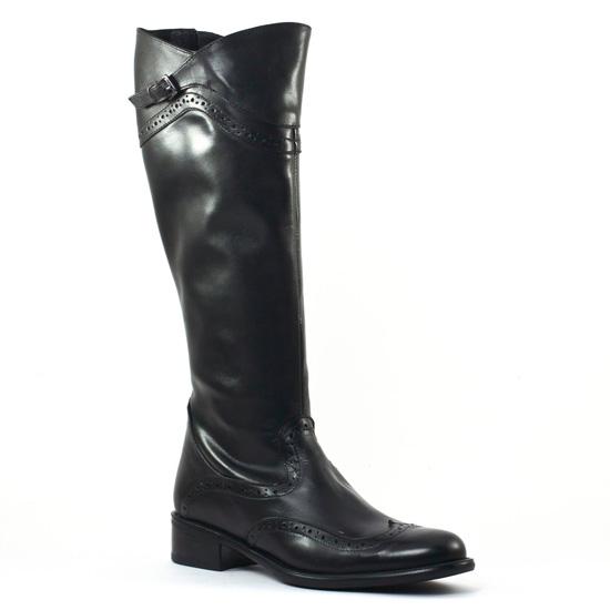 Bottes Scarlatine svi50606 Noir, vue principale de la chaussure femme