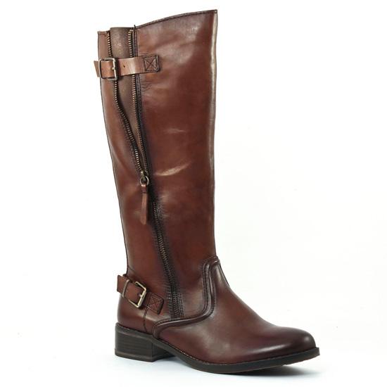 Bottes Tamaris 25507 Mocca, vue principale de la chaussure femme