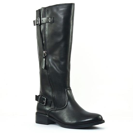 Bottes Tamaris 25507 Black, vue principale de la chaussure femme