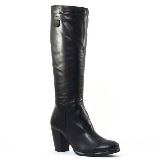 Bottes Tamaris 25586 Black, vue principale de la chaussure femme