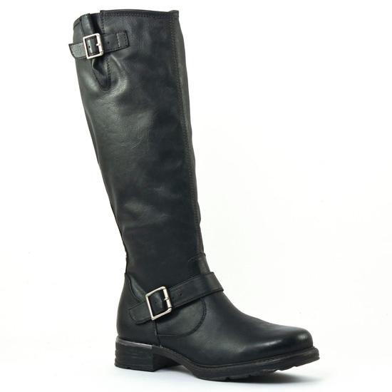 Bottes Tamaris 25605 Black, vue principale de la chaussure femme