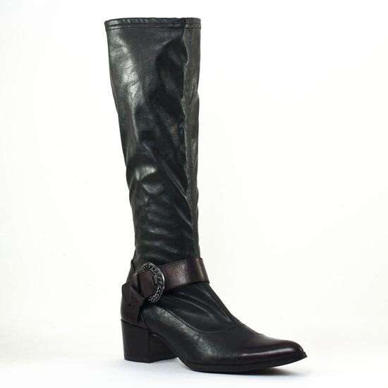 Bottes Fugitive Haker Noir, vue principale de la chaussure femme