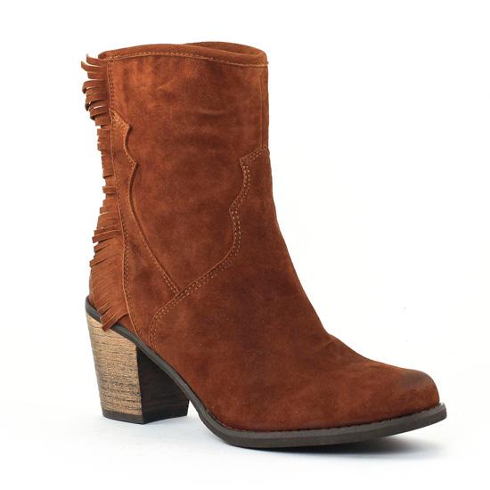 Bottes Axell Parka Fauve, vue principale de la chaussure femme