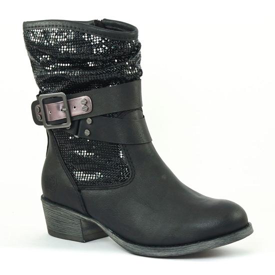 Bottines Et Boots Marco Tozzi 25324 Black, vue principale de la chaussure femme