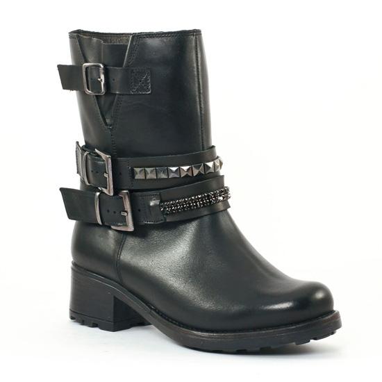 Bottines Et Boots Scarlatine 3445 Noir, vue principale de la chaussure femme
