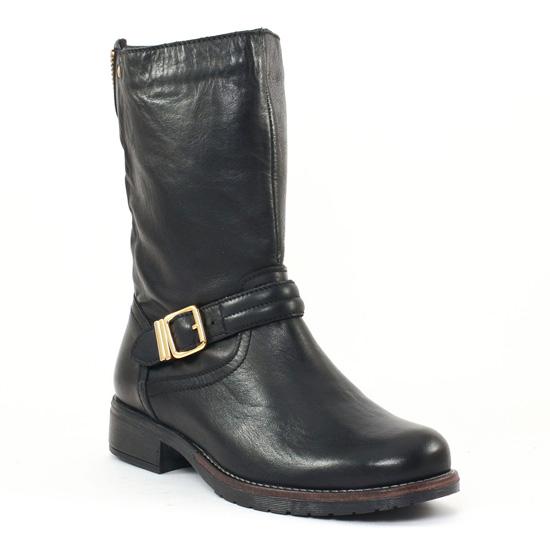 Bottes Scarlatine 3610 noir, vue principale de la chaussure femme