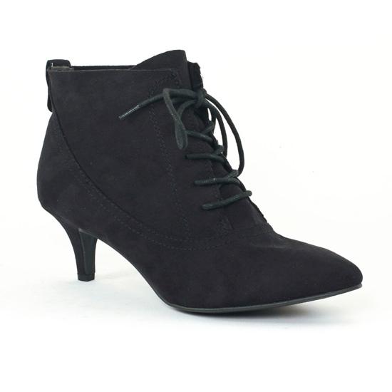 Bottines Et Boots Marco Tozzi 25136 Black, vue principale de la chaussure femme