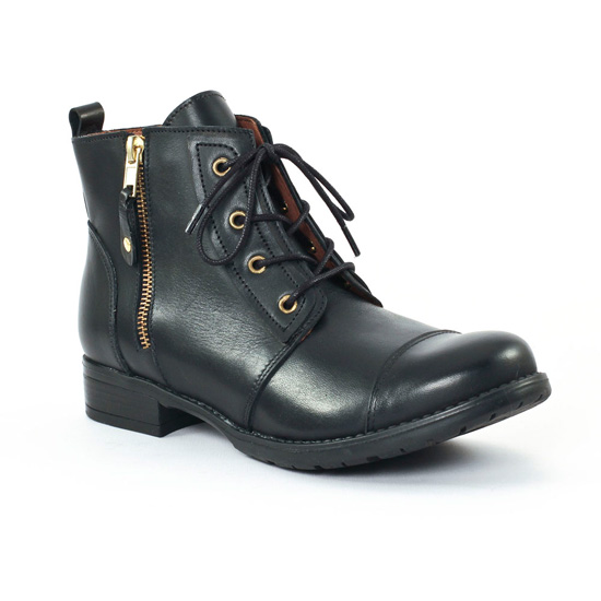 Bottines Et Boots Scarlatine noir, vue principale de la chaussure femme
