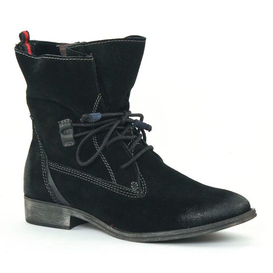 Bottines Et Boots Tamaris 25146 Black, vue principale de la chaussure femme