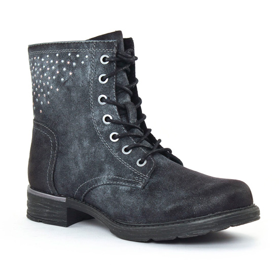 Bottines Et Boots Tamaris 25210 black, vue principale de la chaussure femme