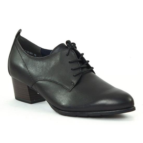 Chaussures Confort Tamaris 23312 black, vue principale de la chaussure femme