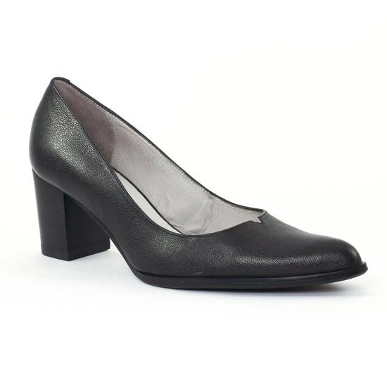 Escarpins Fugitive Capo Noir, vue principale de la chaussure femme