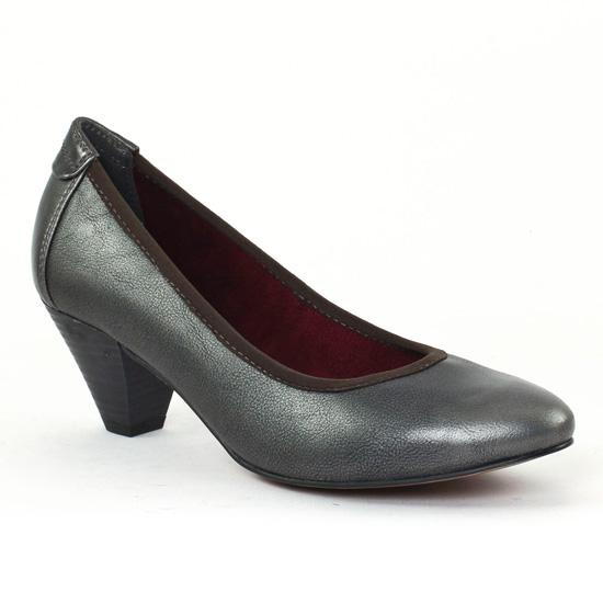 Escarpins Tamaris 22402 Graphite, vue principale de la chaussure femme
