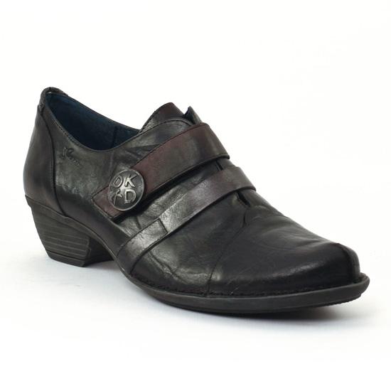 Bottines Et Boots Dorking Nina 6117 Noir, vue principale de la chaussure femme