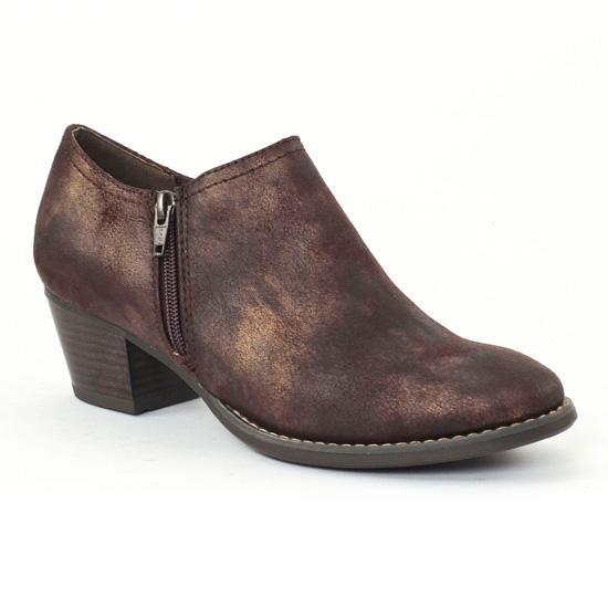 Bottines Et Boots Marco Tozzi 24304 Moka, vue principale de la chaussure femme