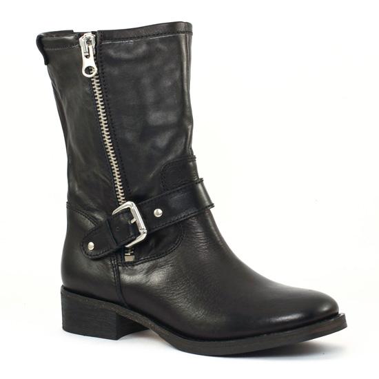 Bottes Scarlatine co77235c Noir, vue principale de la chaussure femme