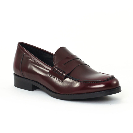 Mocassins Scarlatine Co11011b Amaron, vue principale de la chaussure femme