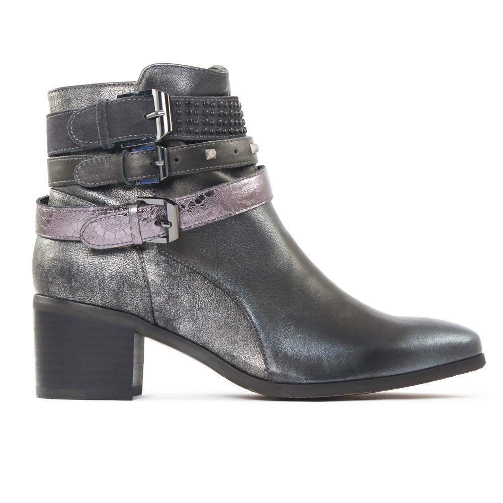 fugitive louxor argent gris | boots argent gris automne hiver chez