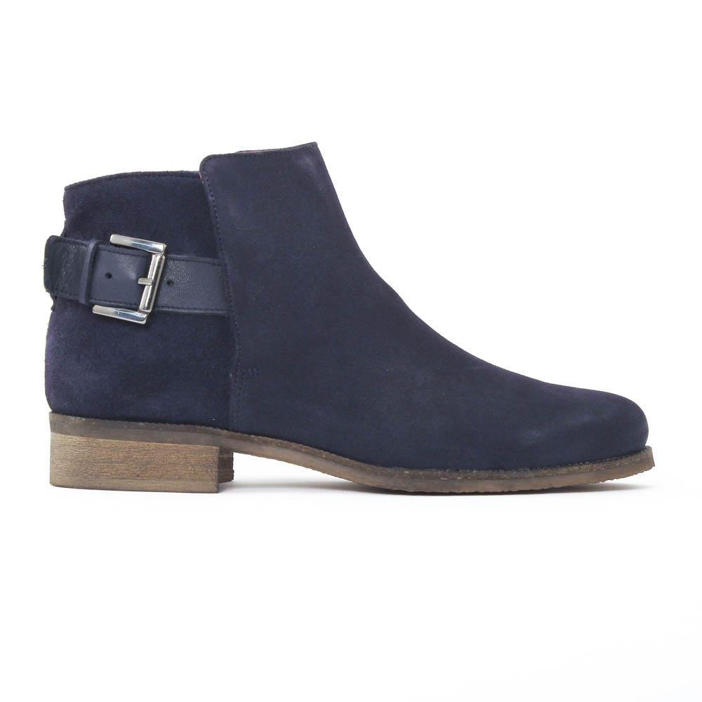 scarlatine 8852b river navy boots bleu marine automne hiver chez trois par 3. Black Bedroom Furniture Sets. Home Design Ideas