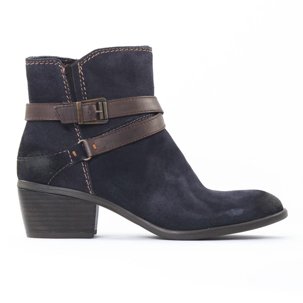 tamaris 25010 navy espresso boots bleu marine automne. Black Bedroom Furniture Sets. Home Design Ideas