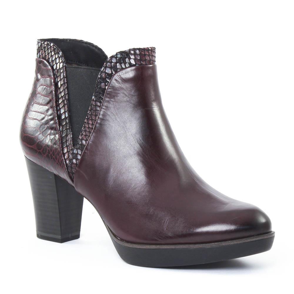 tamaris 25047 berry boot confort bordeaux automne hiver. Black Bedroom Furniture Sets. Home Design Ideas