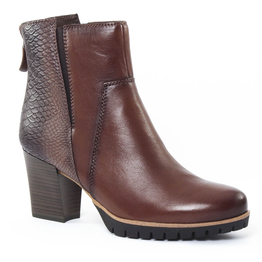 tamaris 25392 muscat boot confort marron automne hiver chez trois par 3. Black Bedroom Furniture Sets. Home Design Ideas