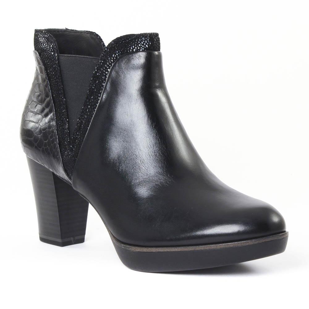 25047, Bottes Femme, Noir (Black), 36 EUTamaris