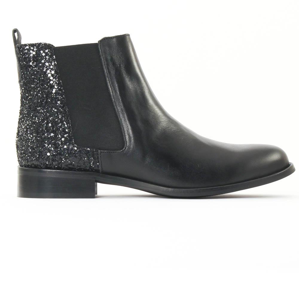 boots femme paillette. Black Bedroom Furniture Sets. Home Design Ideas